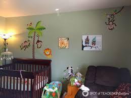 personalized nursery canvas art gift spot of tea designs