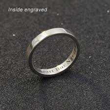 ring with name engraved aliexpress buy personalized custom name ring women 925 solid