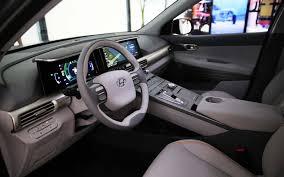 luxury minivan interior hyundai unveils next gen hydrogen fuel cell suv autodevot