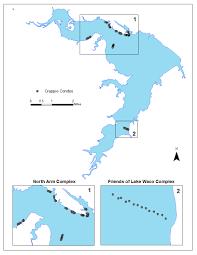 map waco fish attractors in lake waco