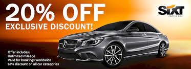 sixt car rental coupons sixt promo codes