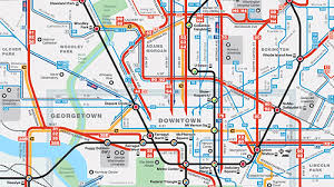 washington dc metrobus map new better diagrammatic metrobus maps are here greater greater