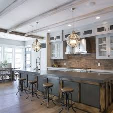 Brick Floor Kitchen by 40 Best Brick Images On Pinterest Brick Flooring Homes And