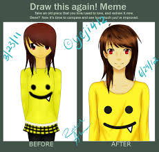 Draw This Again Meme Fail - draw this again meme audition character by yeji412 on deviantart