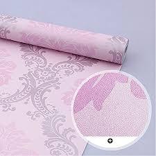 simplelife4u vintage pink damask self adhesive shelf drawer liner