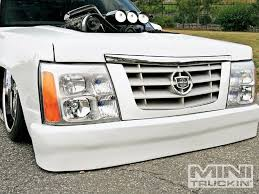 cadillac escalade front end chevy s10 front end swaps generation mini truckin magazine