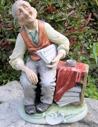 vintage bruno capodimonte figurine porcelain
