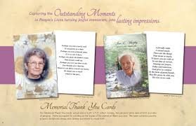 Funeral Invitation Cards Funeral Tributes Bellia South Jersey Printing