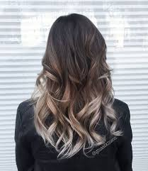 silver brown hair 40 glamorous ash blonde and silver ombre hairstyles