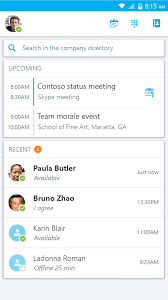 skype android app official skype for business android app arrives on play