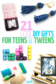 gifts for 21 diy gifts for and tweens and crafters
