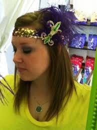mardi gras headbands fleurty girl mardi gras fleur de lis flapper headband gotta make