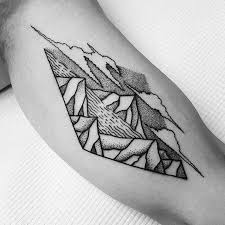 best 25 river tattoo ideas on pinterest simple mountain tattoo