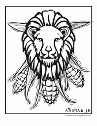 winter holiday printables kwanzaa coloring pages animal jr