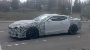 chevy camaro 2019 chevy camaro spied for the first time with minor changes