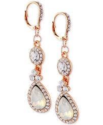 earrings for prom say yes to the prom gold tone white drop