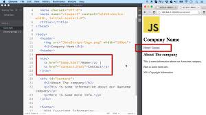 html div tag layout tags common elements used to layout an html page ilovecoding