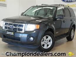Ford Escape Black - 2008 ford escape hybrid in black pearl slate metallic d29990