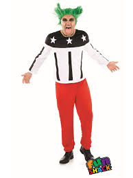 mens 90 u0027s rave starter costume fs4368 fancy dress ball