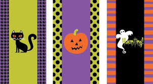 craft of the day halloween printables to personalize your candy