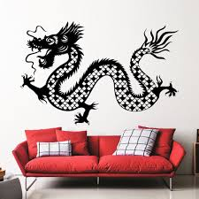 whole wall mirror promotion shop for promotional whole wall mirror chinese traditional gragon whole patterned wall decals home special cool decoration vinyl art wall stickers fashion mural wm 268