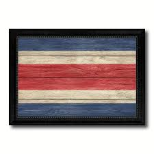 texture home decor costa rica country texture flag rustic vintage giclée print home