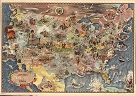 Map Of Columbus Voyage America U0027s Key Historical Events In One Map Vox