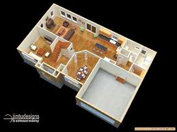 layout of basement apartments 3d floor plan quality renderings