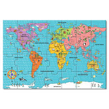 Giant Map Giant World Map Floor Puzzle Toys R Us