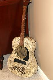 15 clever ways to repurpose old guitars home design and interior