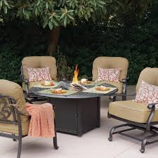 Fire Pit Outdoor Furniture by Patio Conversation Sets With Fire Pit Fire Pit Ideas
