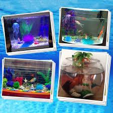 resin the mermaid aquarium fish tank decorations