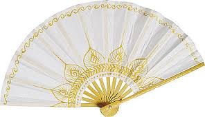 held paper fans image result for http www lunabazaar paper wedding