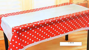 table covers for party clothing glue my party suppliers orange polka dot plastic table