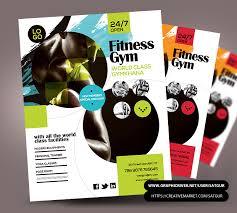 fitness flyer template fitness flyer flyer psd template by satgur on deviantart