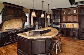 Dark Wood Kitchen Cabinets Indelinkcom - Dark wood kitchen cabinets