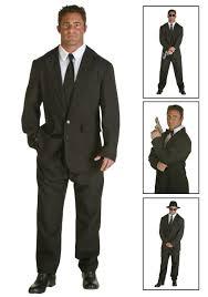 mens black suit costume halloween costume ideas 2016
