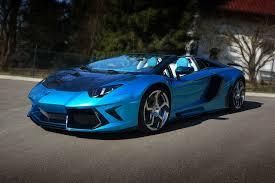 lamborghini aventador blue aventador roadster first emperor by mansory