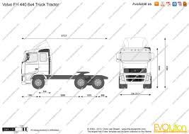 volvo tractor price the blueprints com vector drawing volvo fh 440 6x4 truck tractor