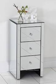 Venetian Bedroom Furniture Curved Mirror Bedside Table Bedrooms