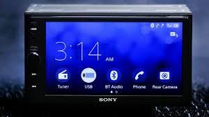black friday car stereo sales sony xav ax100 car stereo full review bluetooth apple carplay
