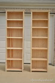 how to make bookshelves building homemade and woodworking
