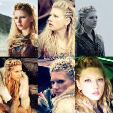 lagertha hair styles historychannel history vikings serial викинги сериал