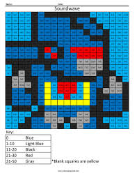 transformers multiplication and division coloring squared