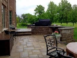 multi level patio design by chicagoland patio builder design