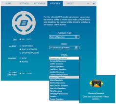 Sound Equalizer For Windows Bongiovi Dps Free Download And Software Reviews Cnet Download Com