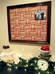 behind the red barn door christmas card holder