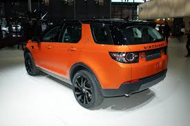 land rover discovery sport red new land rover discovery sport gets colorful in paris