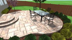 How Much Is A Stamped Concrete Patio by Stamped Concrete Patio Floor Design Pattern With 10 Images