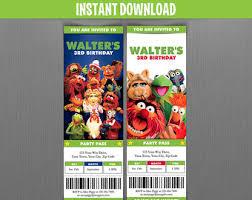 disney cars 3 birthday ticket invitations instant download